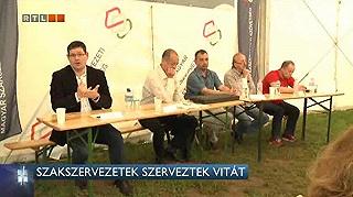 RTL II: Szakszervezetek szerveztek vitát