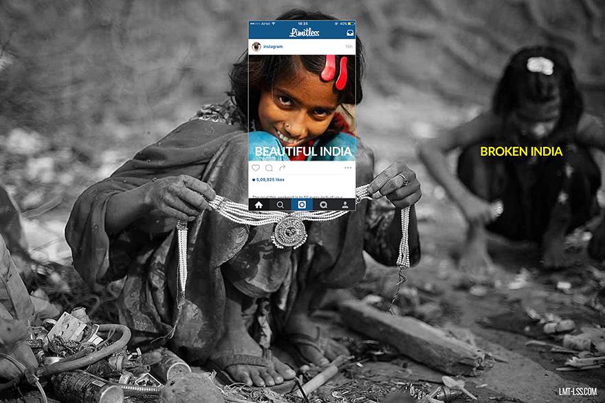 Művészek leplezik le a hamis Instagram-fotókat