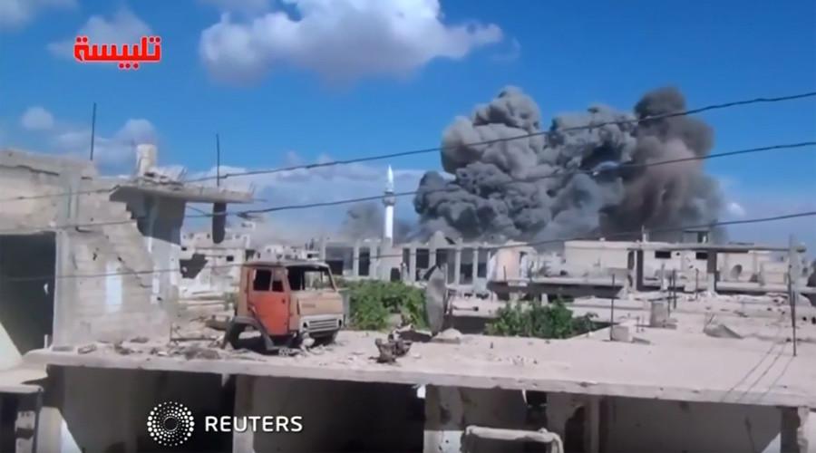 Az orosz hadsereg már felvételeket tett közzé a szíriai légicsapásokról - mutatjuk!