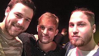 Karesz és Milán The Biebers koncerten jártak