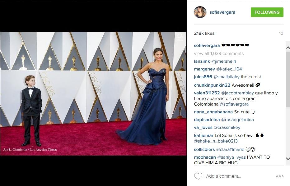 Sofia Vergara úgy ragyogott, akár az Oscar-szobrok!