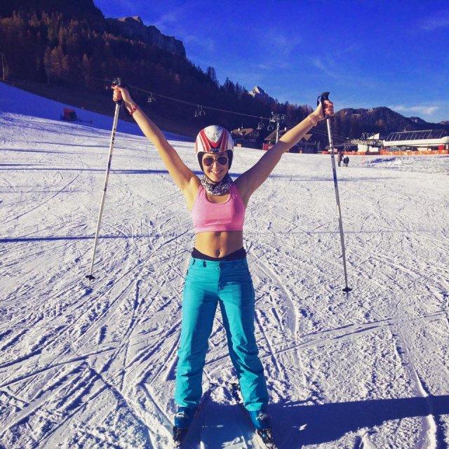 Így élvezték a havas lejtőket az RTL sztárjai
