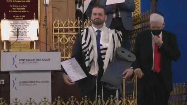 Balla Zsolt lett a német hadsereg tábori rabbija